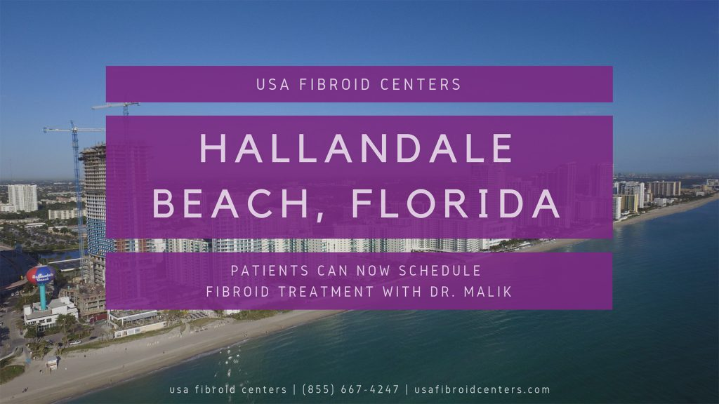 Fibroid treatment center in Hallandale Beach Florida