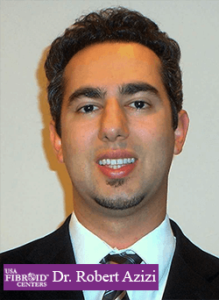 Headshot of a man in a suit and tie: USA Fibroid Centers' Doctor Robert Azizi