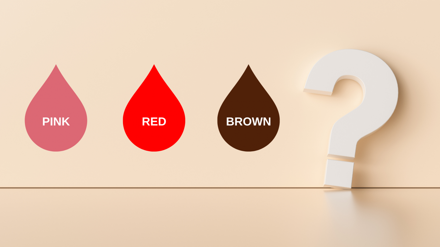 Why is my period blood brown?